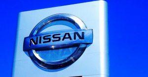 Nissan Sign At A Dealershp