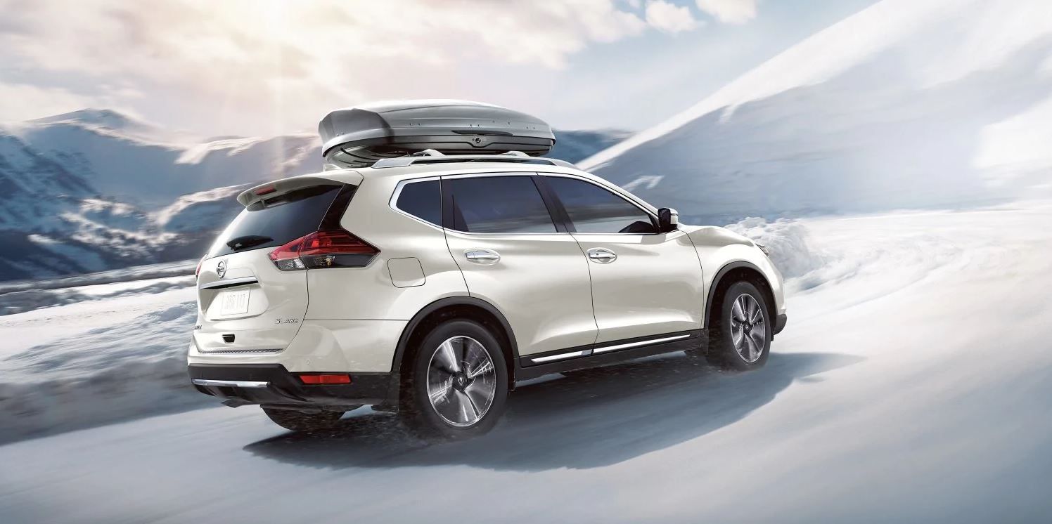 New Nissan Rogue White